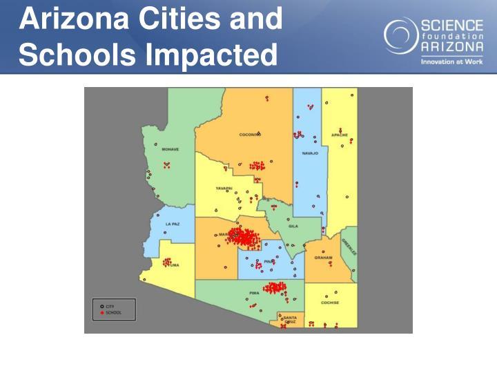 Arizona Cities and Schools Impacted