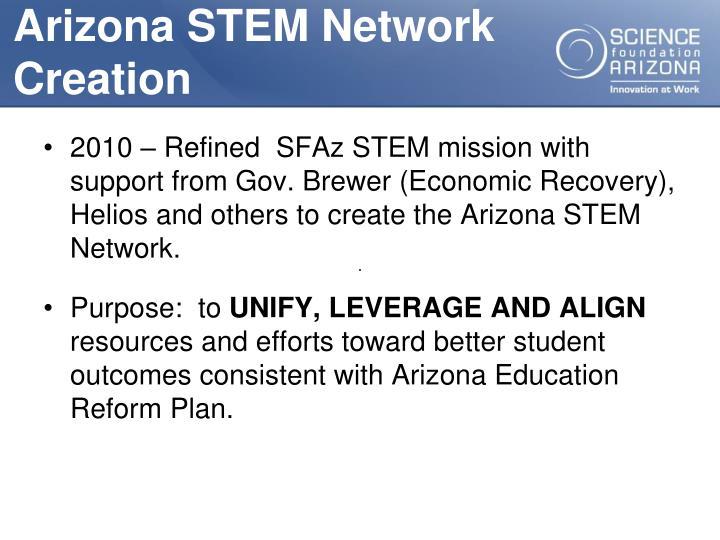 Arizona STEM Network Creation