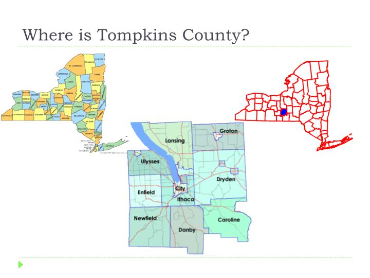 Where is tompkins county