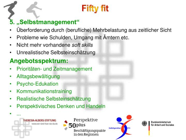 "5. ""Selbstmanagement"""