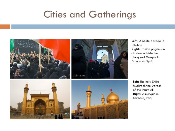 Cities and Gatherings