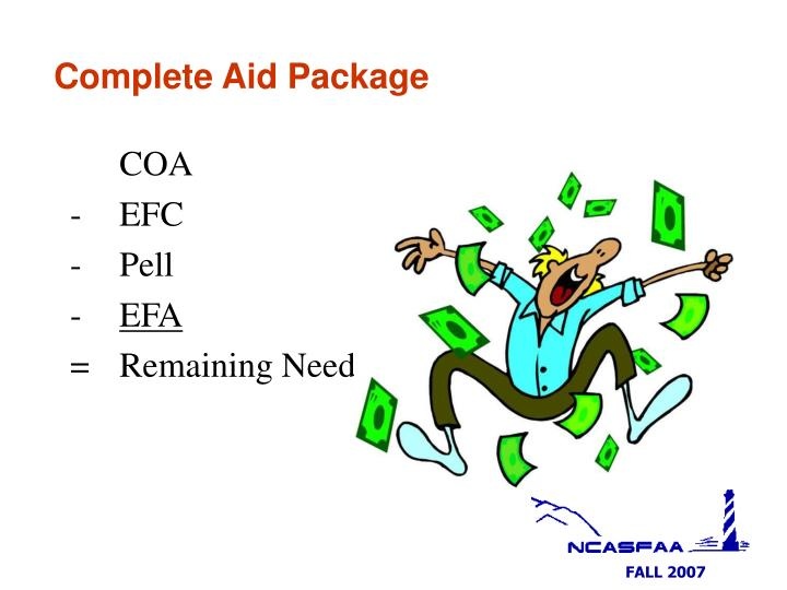 Complete Aid Package