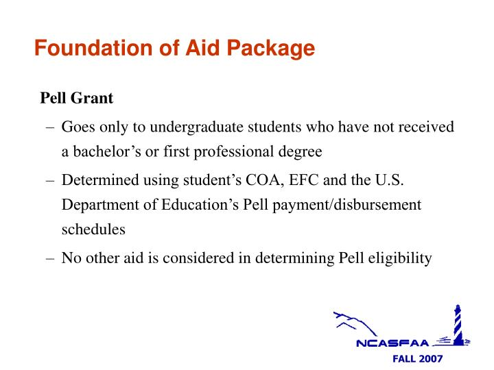 Foundation of Aid Package