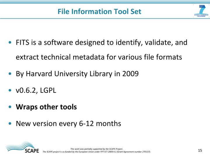 File Information Tool Set