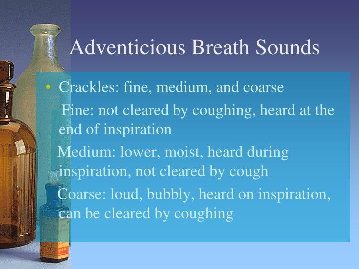 Adventicious Breath Sounds