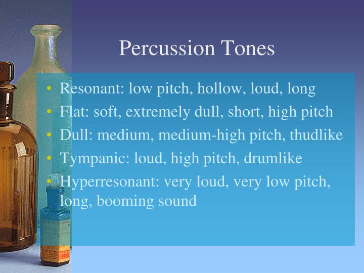 Percussion Tones