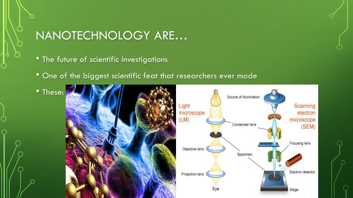 Nanotechnology are…