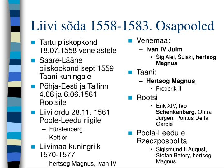 Tartu piiskopkond 18.07.1558 venelastele