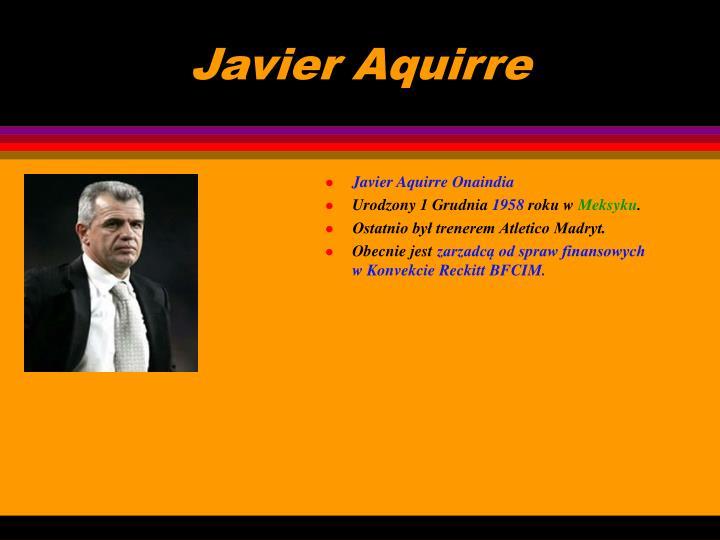 Javier Aquirre