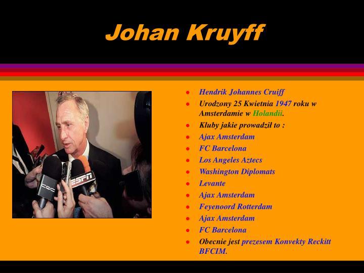 Johan Kruyff