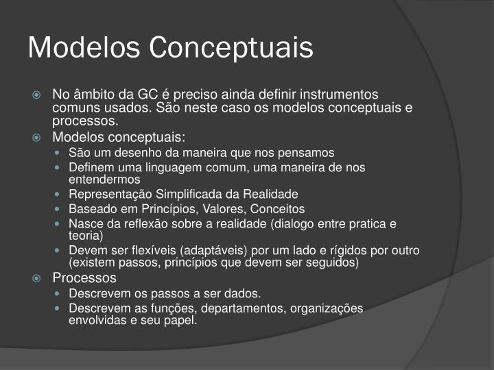 Modelos Conceptuais