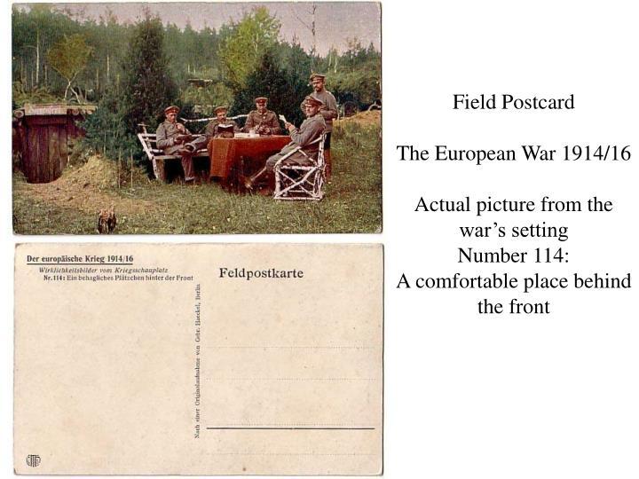 Field Postcard
