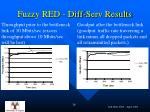 fuzzy red diff serv results