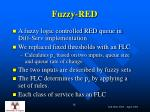fuzzy red
