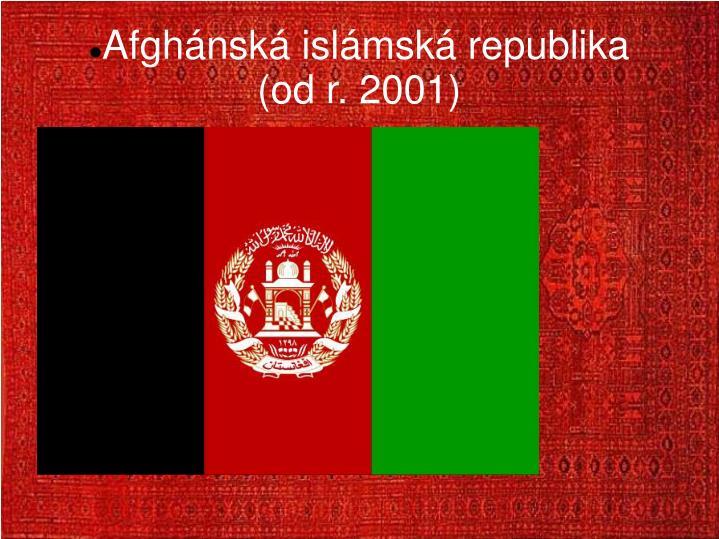 Afghánská islámská republika