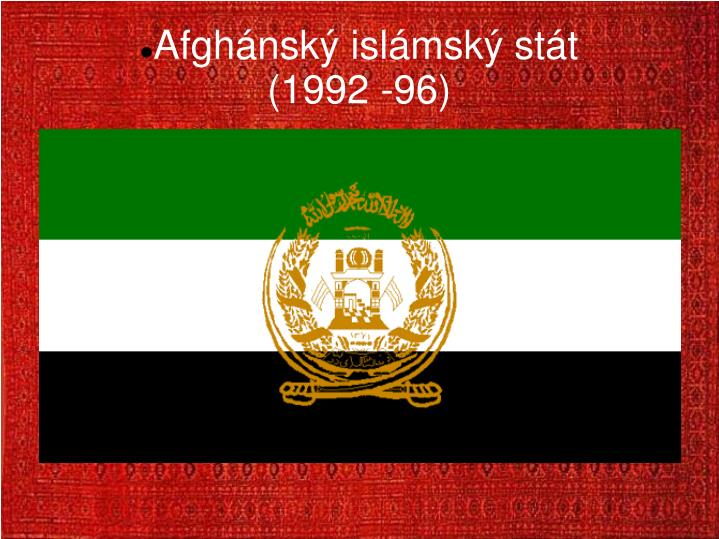 Afghánský islámský stát