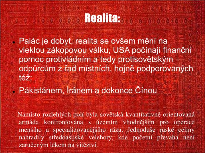 Realita: