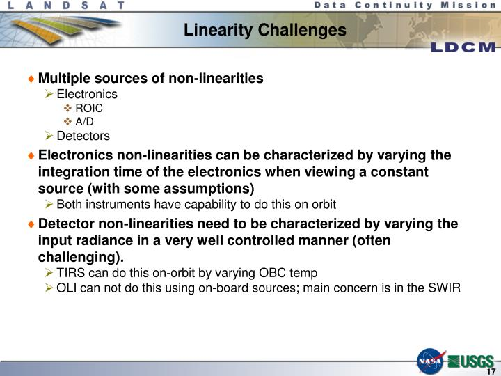 Linearity Challenges