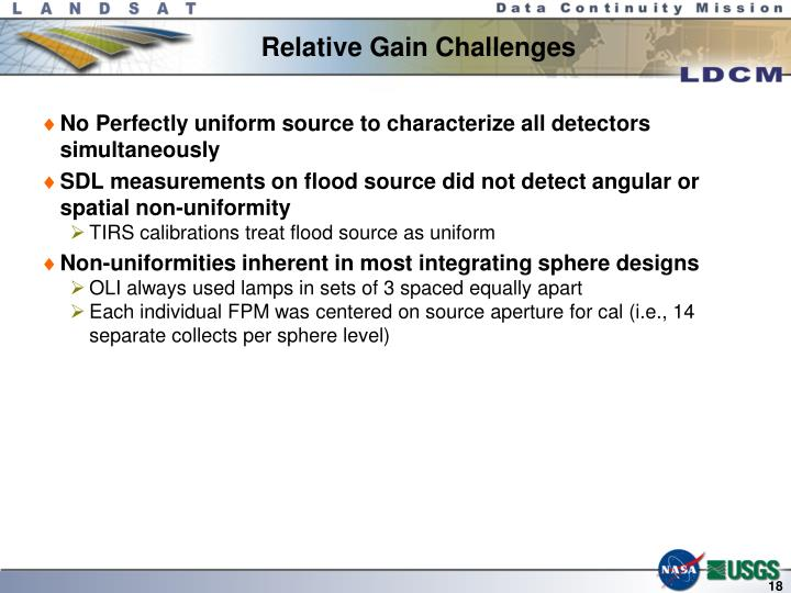 Relative Gain Challenges