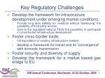 key regulatory challenges
