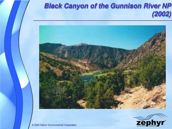Black Canyon of the Gunnison River NP