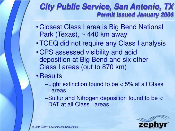 City Public Service, San Antonio, TX