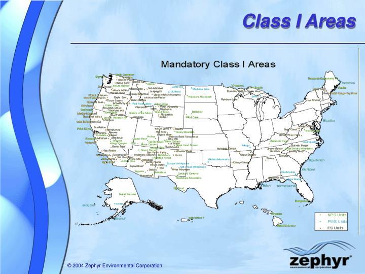 Class I Areas