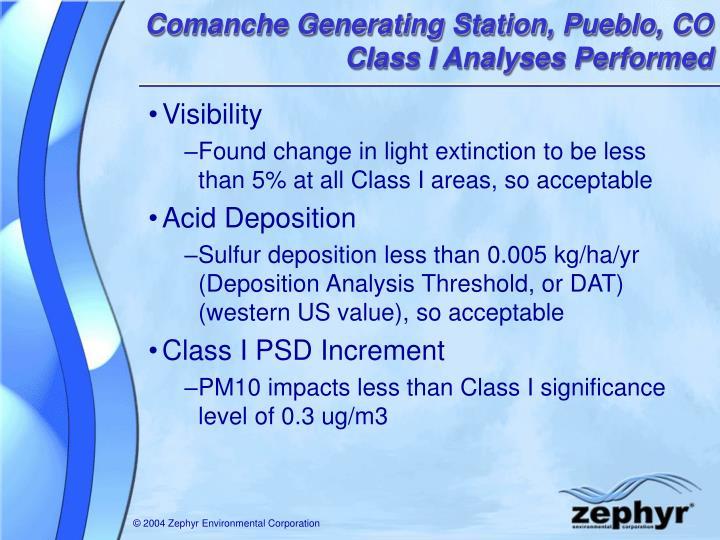 Comanche Generating Station, Pueblo, CO