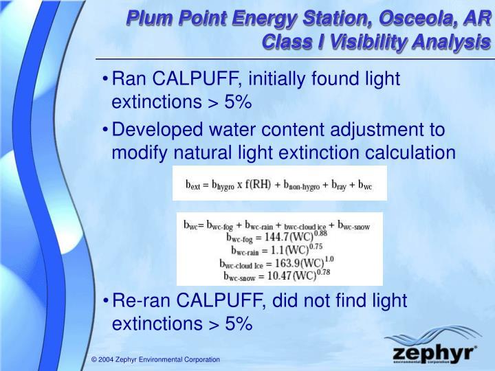 Plum Point Energy Station, Osceola, AR