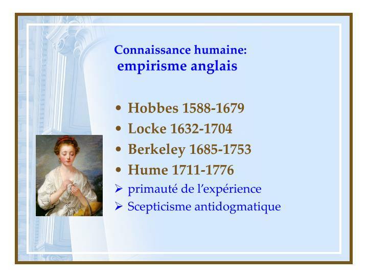 Connaissance humaine: