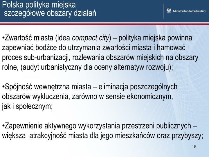 Polska polityka miejska