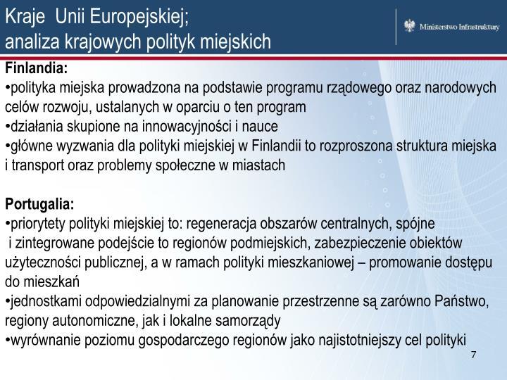 Kraje  Unii Europejskiej;