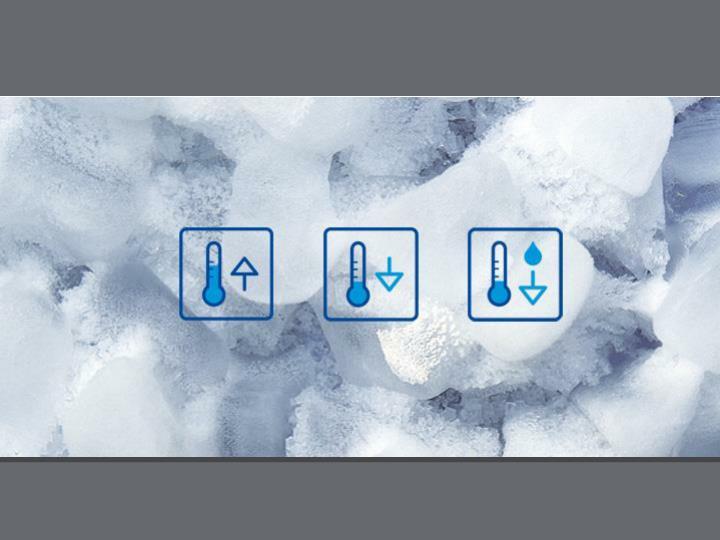 Icon: Heizen Kühlen Adiabate Kühlung