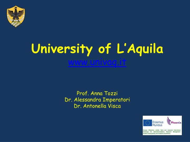 University of L'Aquila
