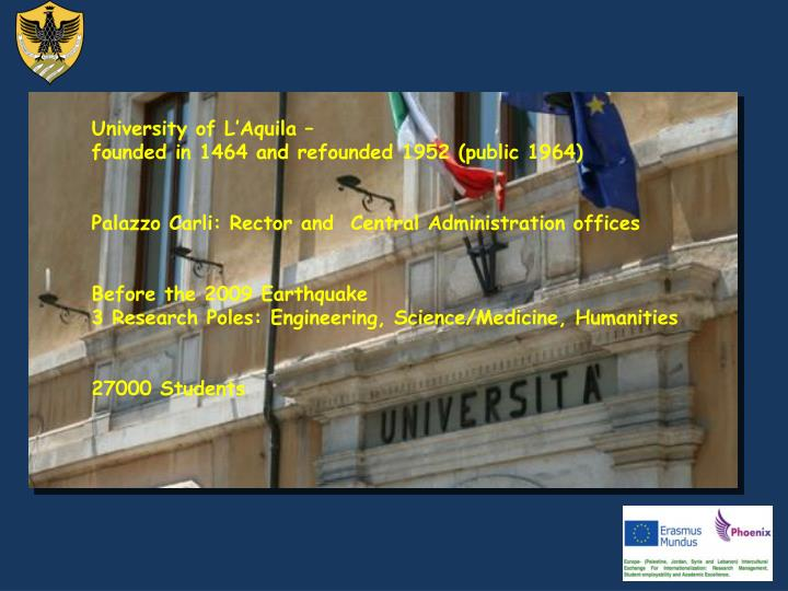 University of L'Aquila –