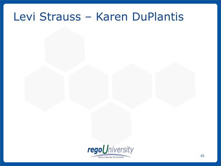 Levi Strauss – Karen DuPlantis