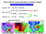 why is se u s ozone insensitive to climate change