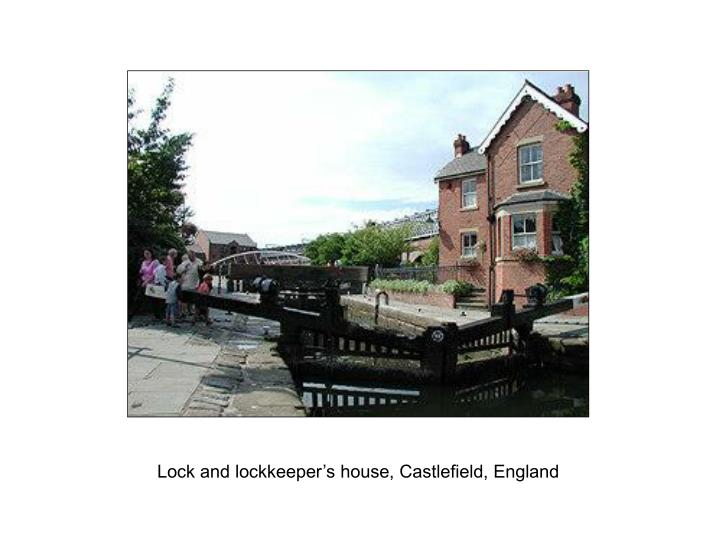 Lock and lockkeeper's house, Castlefield, England