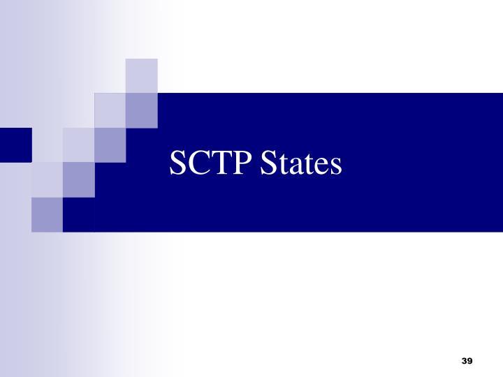 SCTP States