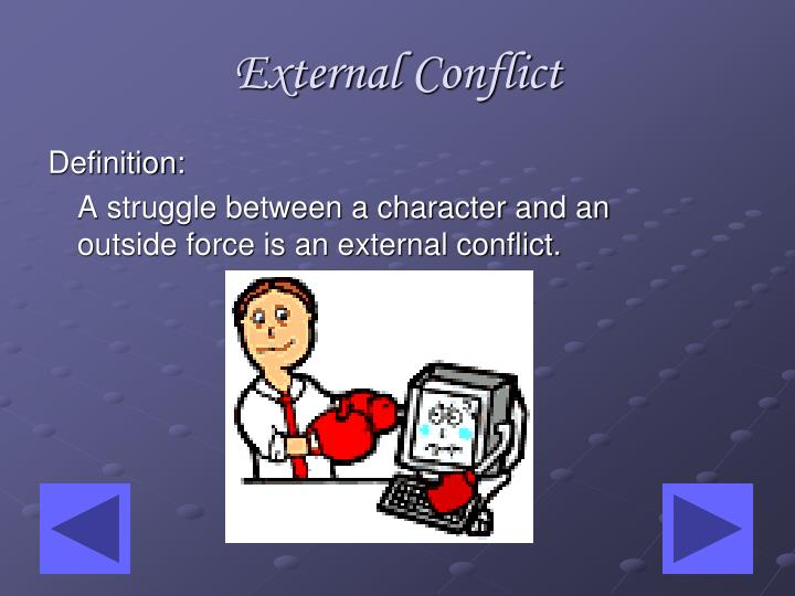 ppt conflict in literature powerpoint presentation id