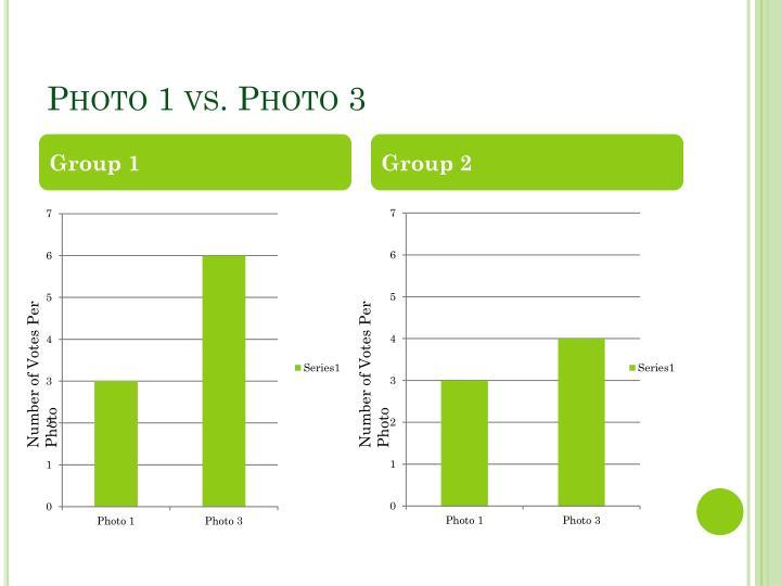 Photo 1 vs. Photo 3