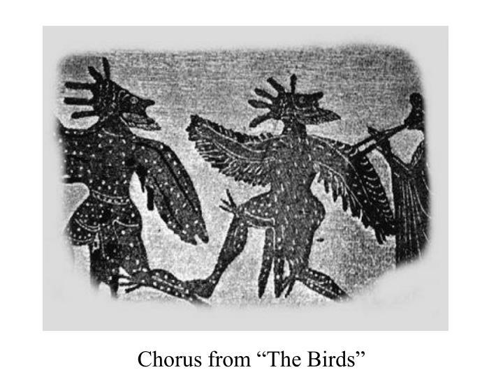 "Chorus from ""The Birds"""
