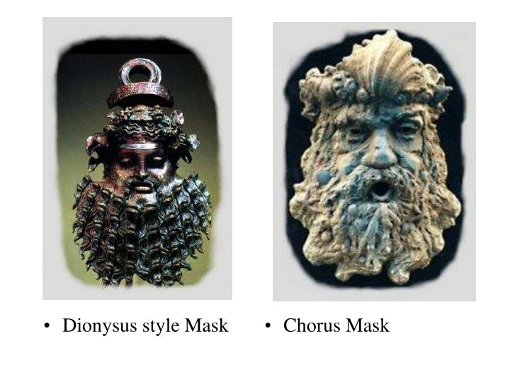 Dionysus style Mask