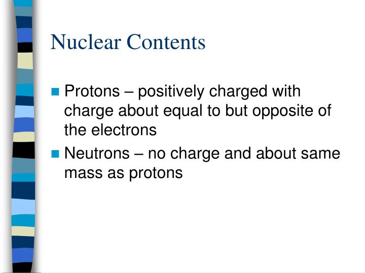 Nuclear Contents