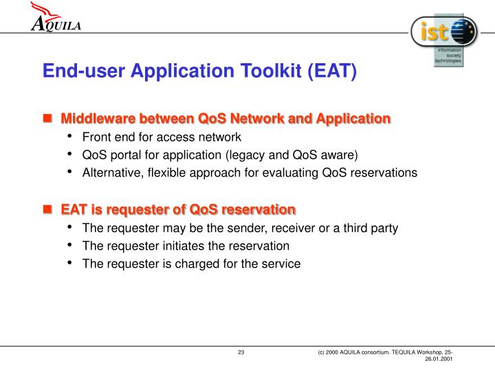 End-user Application Toolkit (EAT)
