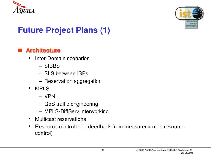 Future Project Plans (1)