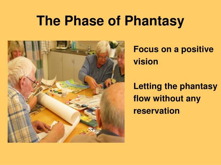 The Phase of Phantasy