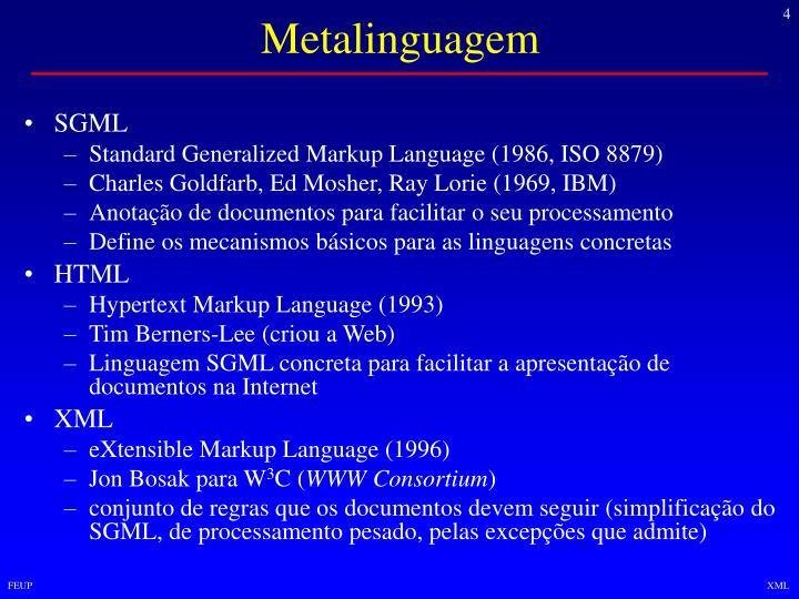 Metalinguagem