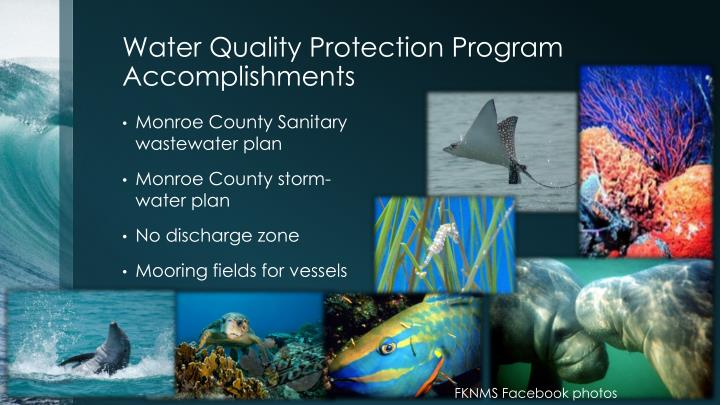 Water Quality Protection Program Accomplishments
