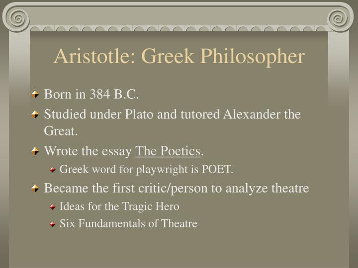 Aristotle: Greek Philosopher